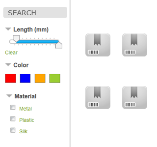 customfields to filters